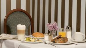 Frühstück im Hotel das Capri in Wien