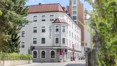 The hotel Salzburger Hof in Salzburg