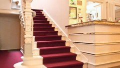 Wonderful details in the Villa Esplanade hotel in Bonn