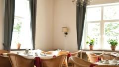 Wonderful dining hall in the Villa Esplanade Hotel in Bonn