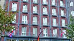 The Hotel Baseler Hof in Hamburg