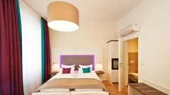 Comfortable rooms at the boutique hotel Elch in Nuremberg