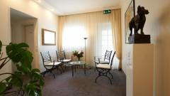Beautiful lounge at the Hotel Klughardt in Nuremberg