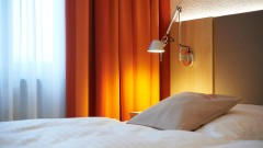 Cosy room at the old town hotel Victoria in Nuremberg