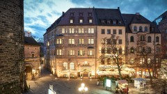 The hotel Victoria in Nuremberg
