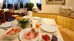 Delicious meals at the Haus Arenberg hotel in Salzburg