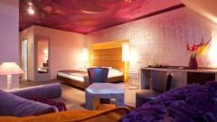 Creative rooms at the art hotel Der Wilhelmshof in Vienna