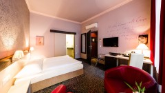 comfortable rooms at the art hotel Vienna
