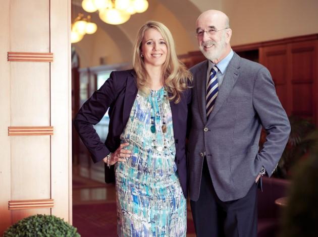 Ines Pietsch und Reinhard Blumauer