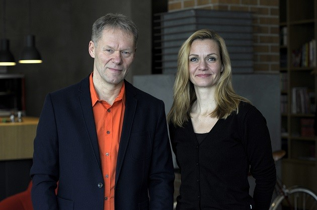 Stephan Kuehne and Sabine Deeken