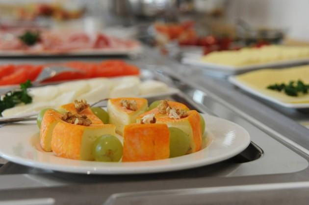 Große Auswahl am Frühstücksbuffet im Hotel Restaurant Zur Post in Bonn