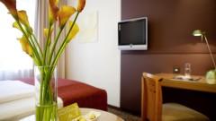 Zimmer mit schönen Details im Hotel Das TIGRA in Wien