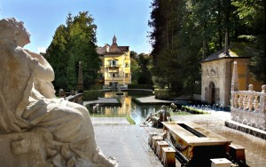 Foto: Schlossverwaltung Hellbrunn/Sulzer - Die Wasserspiele im Schlosspark von Hellbrunn unterhielten schon die Erzbischöfe