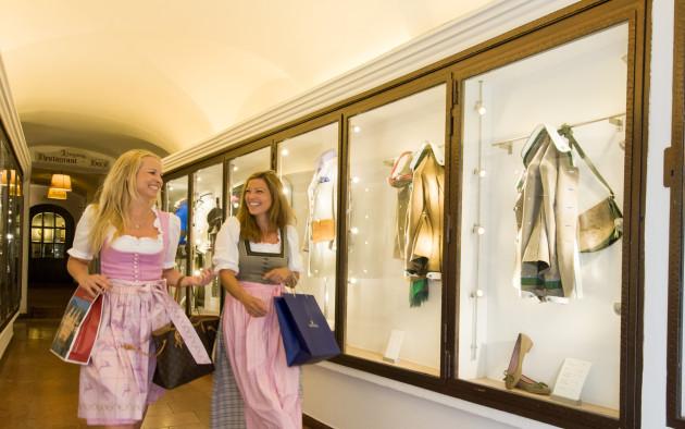 Kleine Boutiquen in SAlzburg ermöglichen Shopping abseits des Mainstreams.