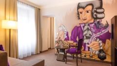 Individuelle Zimmerausstattung im Hotel Salzburger Hof in Salzburg