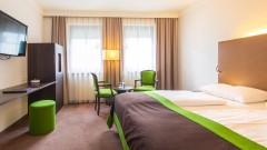 Große Doppelzimmer im Hotel Salzburger Hof in Salzburg