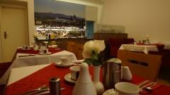 Schöner Speisesaal im Hotel Deutsches Haus in Bonn