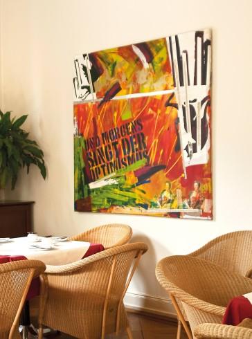 Modernes Design im Hotel Villa Esplanade in Bonn