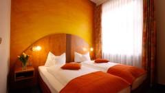Gemütliche Doppelzimmer im Hotel Barbara in Freiburg