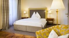 Komfortables Zimmer im Parkhotel Graz