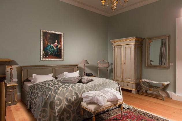 Gemütliche Zimmer im Hotel Baseler Hof in Hamburg