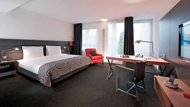 Großzügige Doppelzimmer im The Madison Hotel in Hamburg