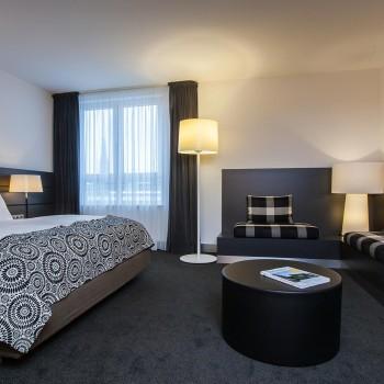 Moderne Zimmer im PrivateCityHotel The Madison in Hamburg