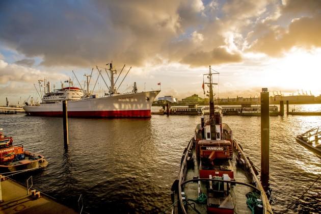 Einmalig, der Hamburger Hafen