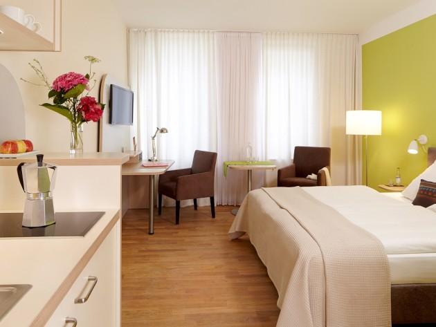 Komfortable Zimmer im Hotel FLOTTWELL BERLIN