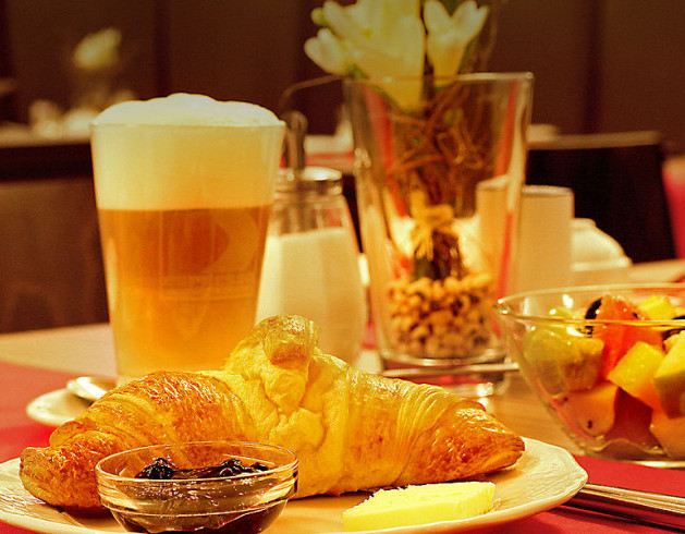 Delikates Frühstück im Sternhotel in Bonn