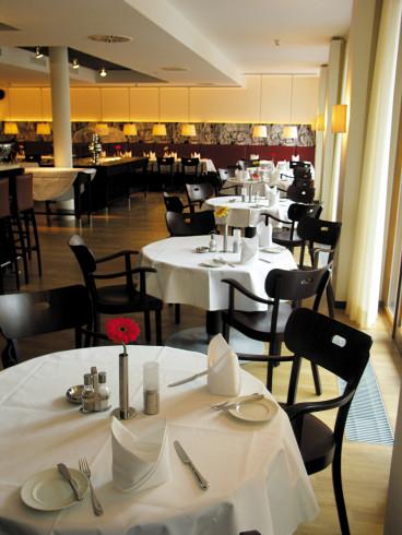 das stilvolle Restaurant im Hotel Begardenhof in Köln