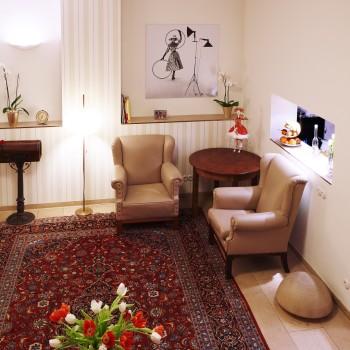Stilvolle Einrichtung im Design Hotel Vosteen in Nürnberg