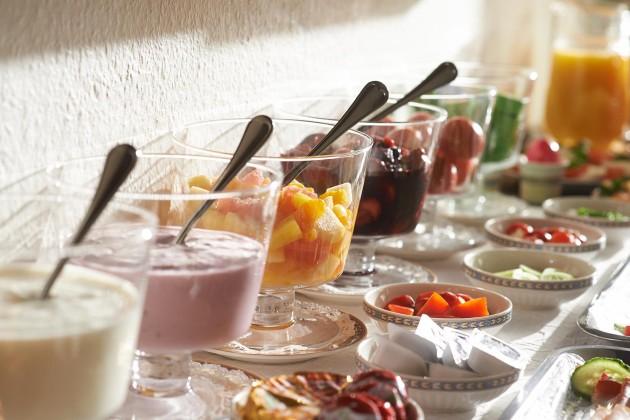 Tolle Auswahl beim Frühstücksbuffet im Hotel Klughardt in Nürnberg