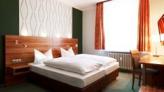 Komfortable Doppelzimmer im Hotel Marienbad in Nürnberg
