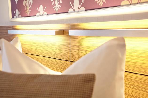 Einrichtung mit Liebe fürs Detail im Hotel Prinzregent in Nürnberg