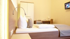 Individuell gestaltete Zimmer im Hotel Prinzregent in Nürnberg