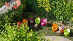 Entspannen im Grünen im art + business hotel Architektur in Nürnberg