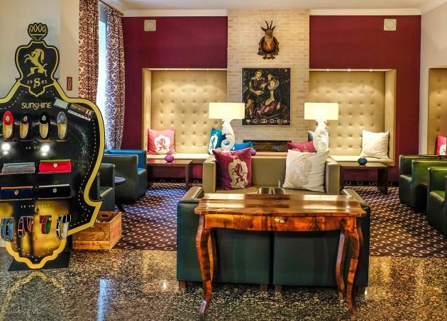 Stilvolle Einrichtung im Design Hotel Villa Carlton in Salzburg