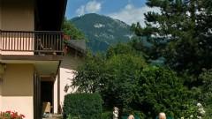 Genießen Sie den Garten des Hotel Haus Arenberg in Salzburg