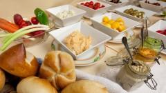 Große Auswahl beim Frühstücksbuffet im Hotel Haus Arenberg in Salzburg