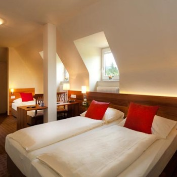 Geräumige Doppelzimmer im Hotel Astoria in Salzburg