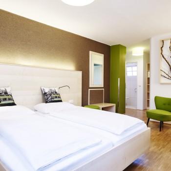 Schöne Zimmer im Bio-Hotel zur Post in Salzburg