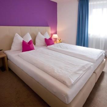 Gemütliche Zimmer mitten in der Stadt im Altstadthotel Weisse Taube in Salzburg