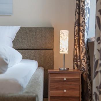 Modernes Zimmer im Hotel Wolf Dietrich in Salzburg