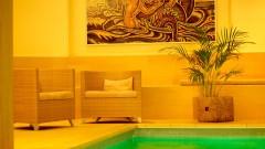 Gemütliche Lobby im Hotel Wolf Dietrich in Salzburg