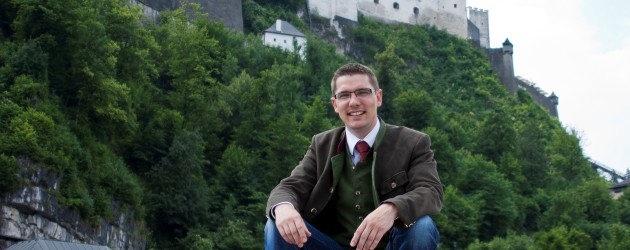 Ihr Gastgeber im Altstadthotel Kasererbräu in Salzburg Alexander Krammer