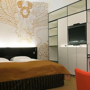 Geräumige Zimmer im ALMA Boutiquehotel in Wien