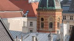 Herrliche Ausblick vom ALMA Boutiquehotel in Wien