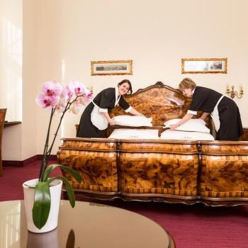 Komfortable Zimmer im Hotel Stefanie in Wien