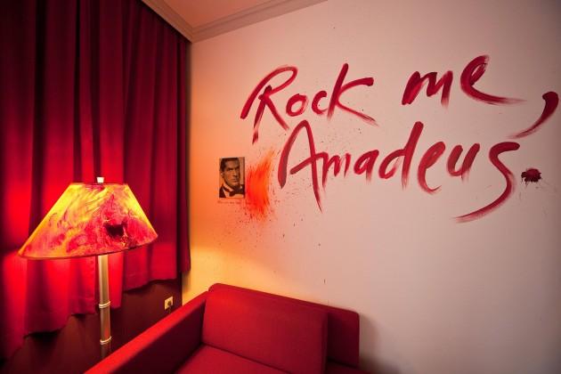 Von Künstlern gestaltet das Hotel Der Wilhelmshof in Wien